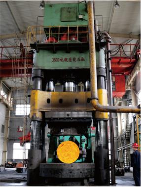 3500吨自由锻造油压机