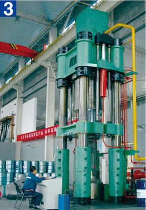 3500噸電極液壓機